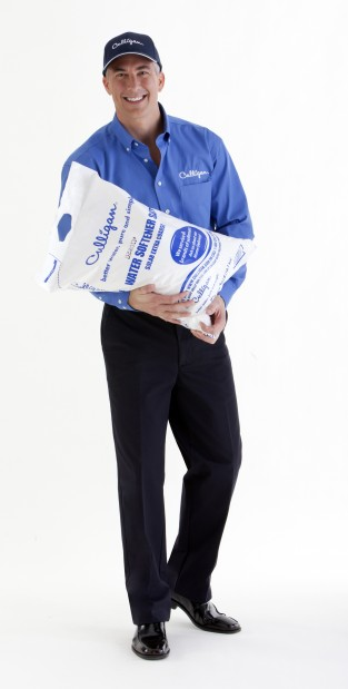 Culligan Man Carrying Salt